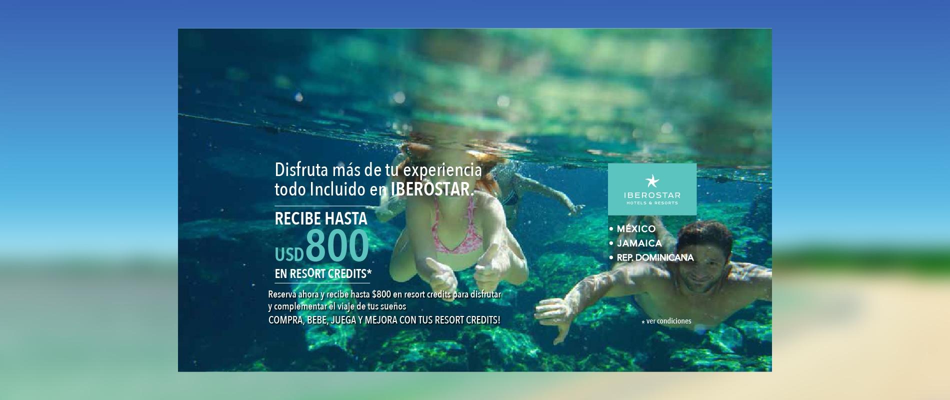 resorts credit iberostar