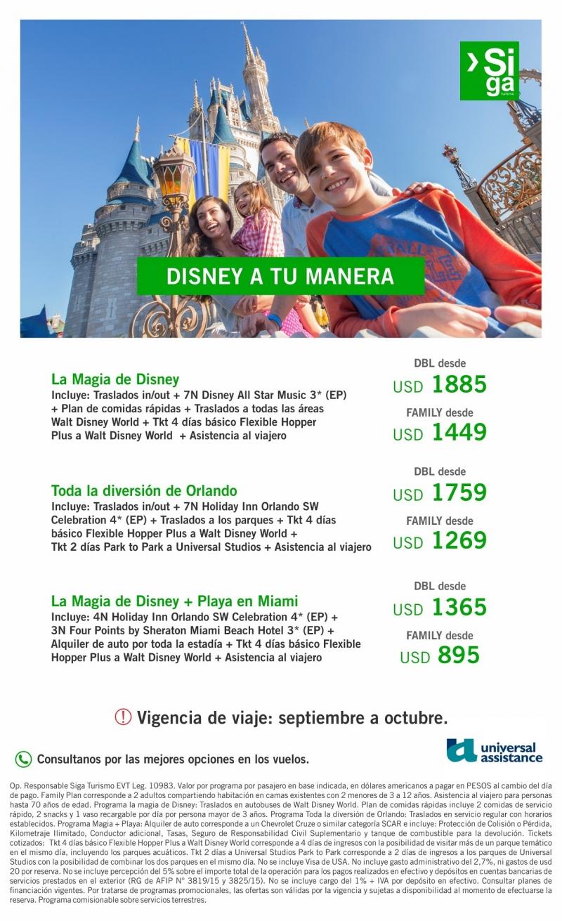 Disney a tu manera !