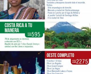 CIRCUITOS DE AMÉRICA!