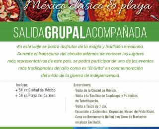 SALIDA GRUPAL MEXICO CLASICO Y PLAYA