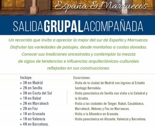 SALIDA GRUPAL ESPAÑA Y MARRUECOS