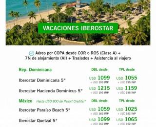 Vacaciones en Iberostar - Desde COR o ROS!