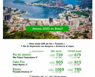 Brasil 2020 con Gol