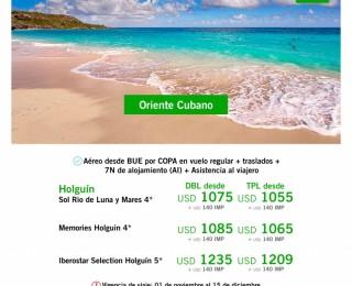 Oriente Cubano desde BUE