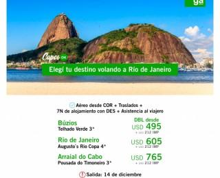 Volá a Rio de Janeiro - Cupos OK
